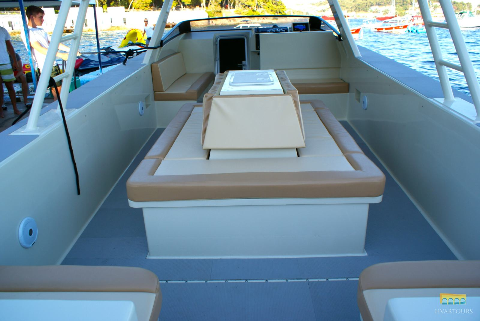 Summer Breeze with open deck