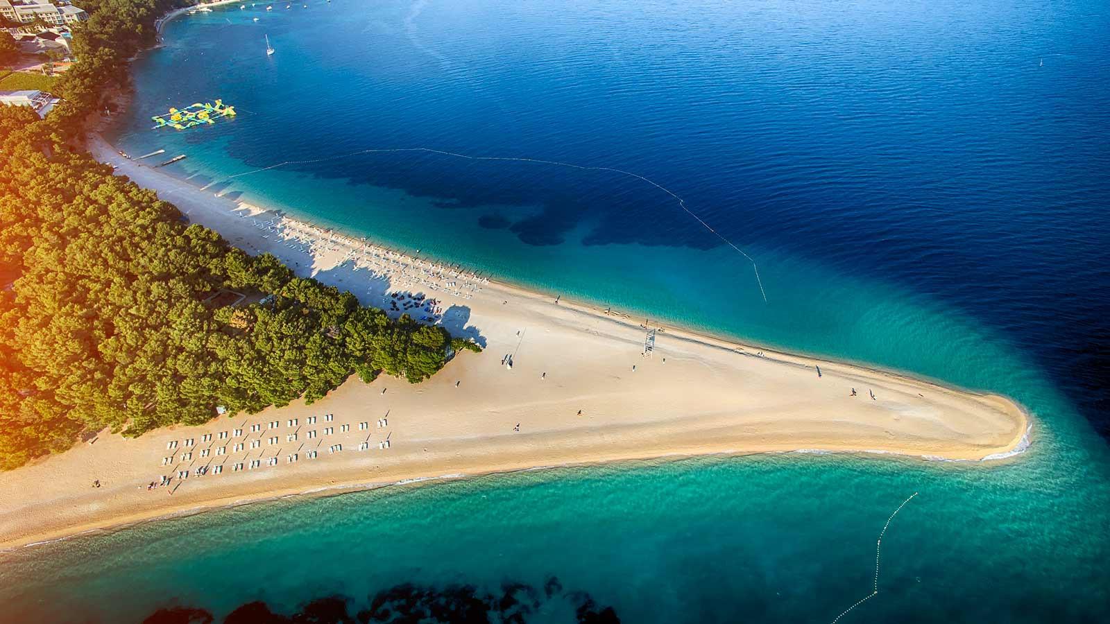 Brac Island and Bol Beach