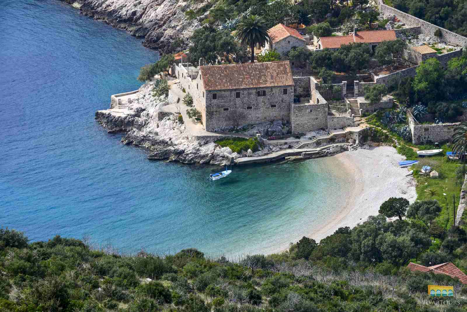 Escape to the hidden lagoons and cliffs of Hvar's south shore