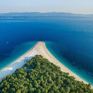 Brač Island and Bol Beach