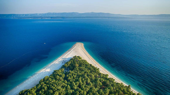 Brač Island and Bol Beach